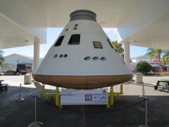 Orion capsule replica