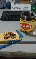 vegemite made it!