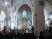 I went to Sunday Mass here