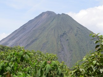 Arenal from Green Lagoon