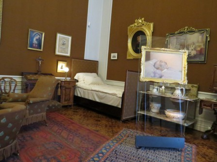 Kaiser Franz Josef death bed