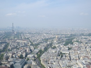 Paris from Montparnasse