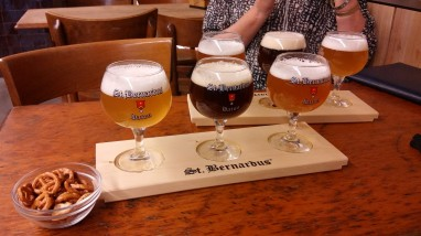 Belgian beer in old ammunition barracks