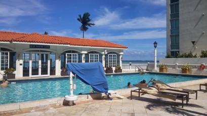 Miami hotel pool