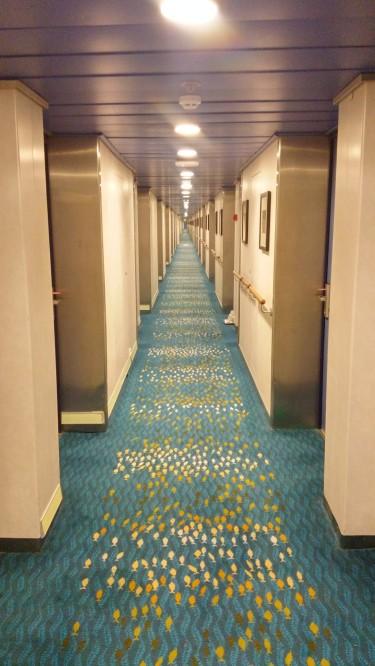 loooooong corridors