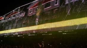Bono inside the big screen