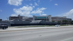 County Jail next to my Orlando hotel
