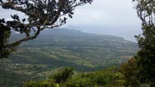 View from the top of Gros Piton